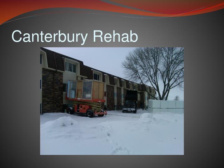 Canterbury Rehab