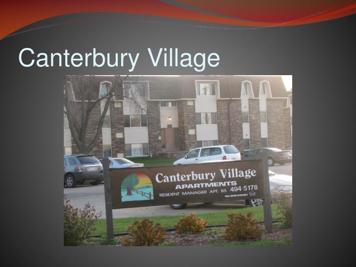 Canterbury Village