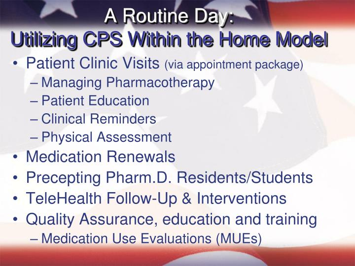 A Routine Day: