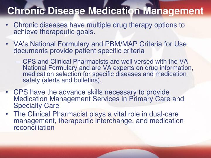 Chronic Disease Medication Management