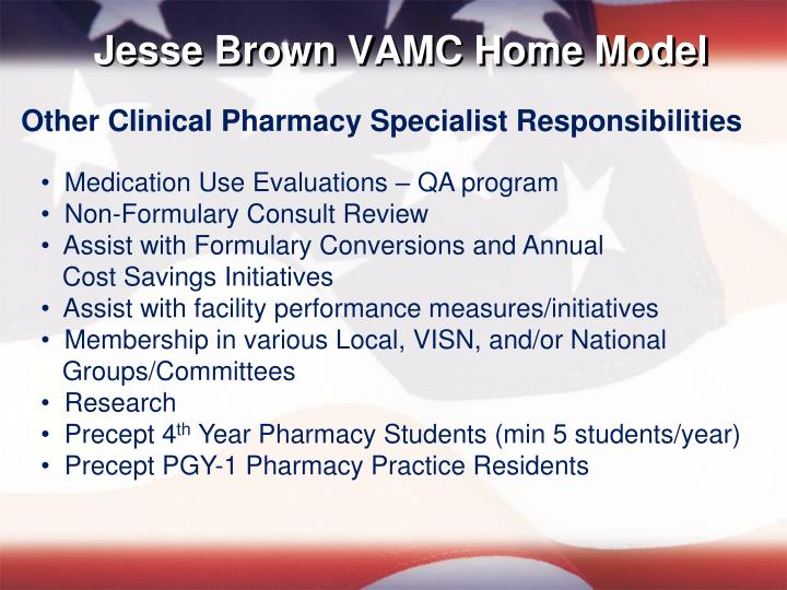 Jesse Brown VAMC Home Model