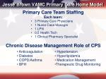 jesse brown vamc primary care home model