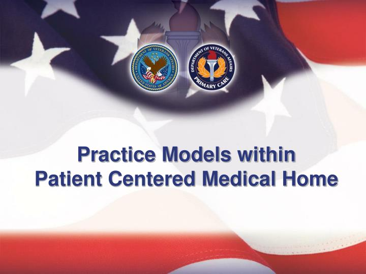 practice models within patient centered medical home