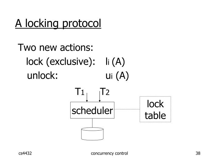 A locking protocol