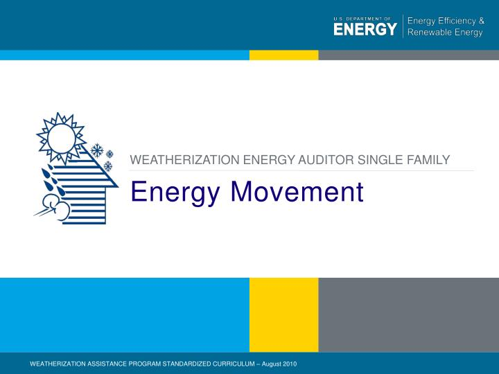 Energy movement