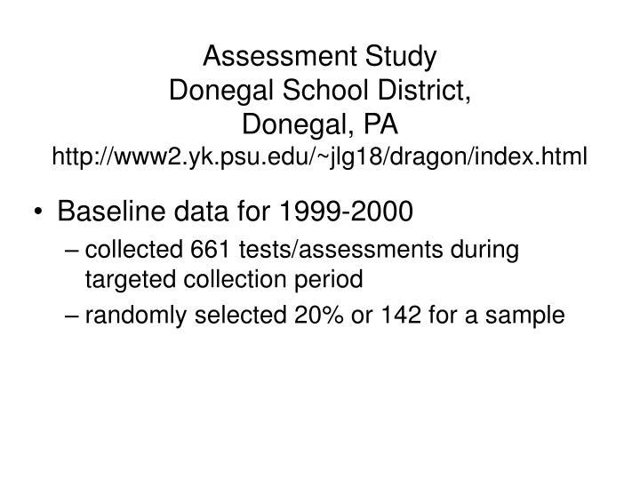 Assessment Study