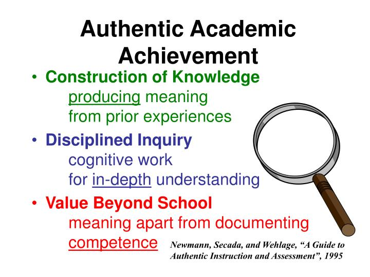 Authentic Academic Achievement