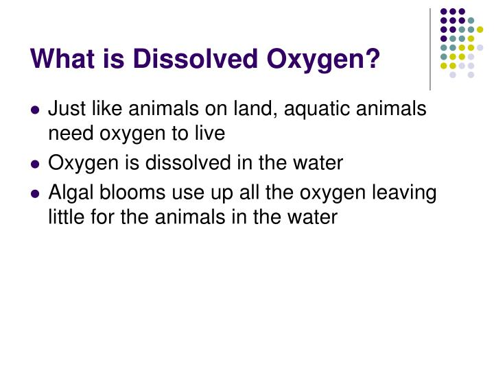 What is Dissolved Oxygen?