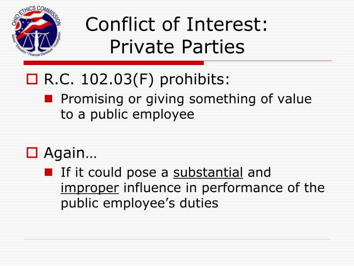 Conflict of Interest: