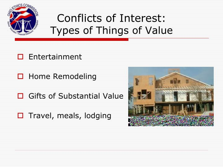 Conflicts of Interest: