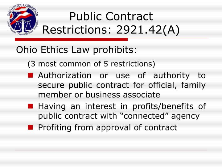Public Contract