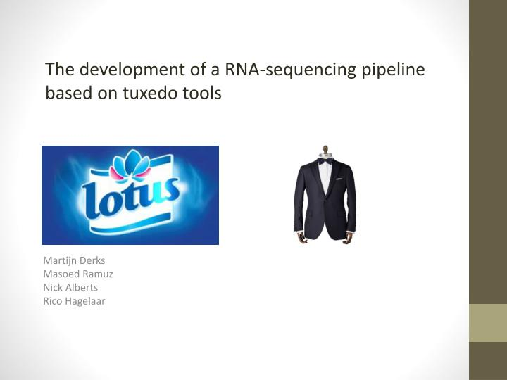 The development of a RNA-sequencing pipeline