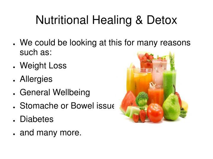 Nutritional Healing & Detox