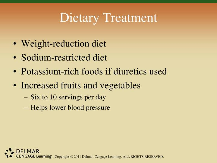 Dietary Treatment