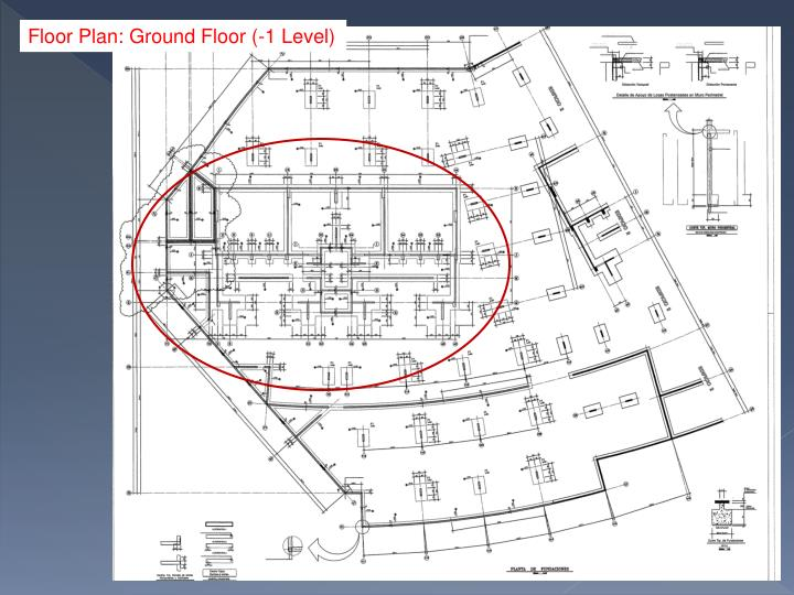 Floor Plan: Ground Floor (-1 Level)