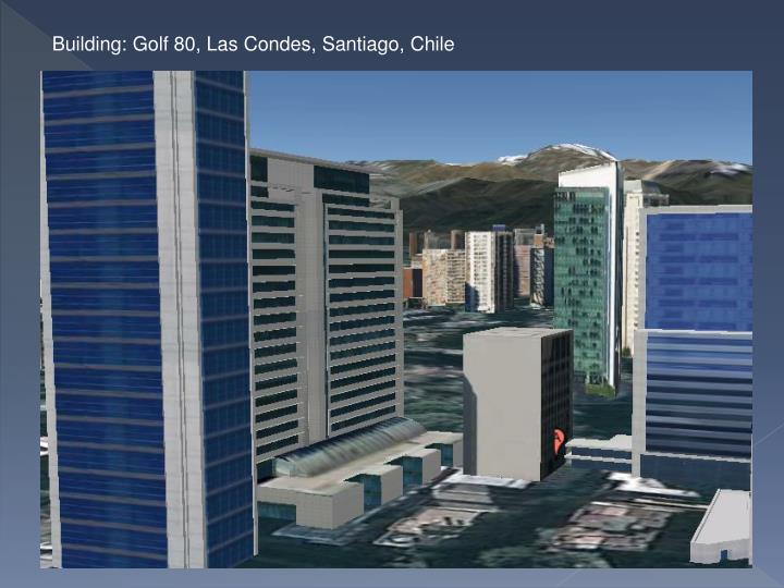 Building: Golf 80, Las Condes, Santiago, Chile
