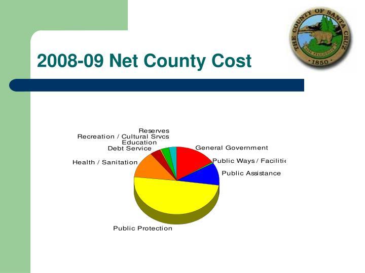 2008-09 Net County Cost