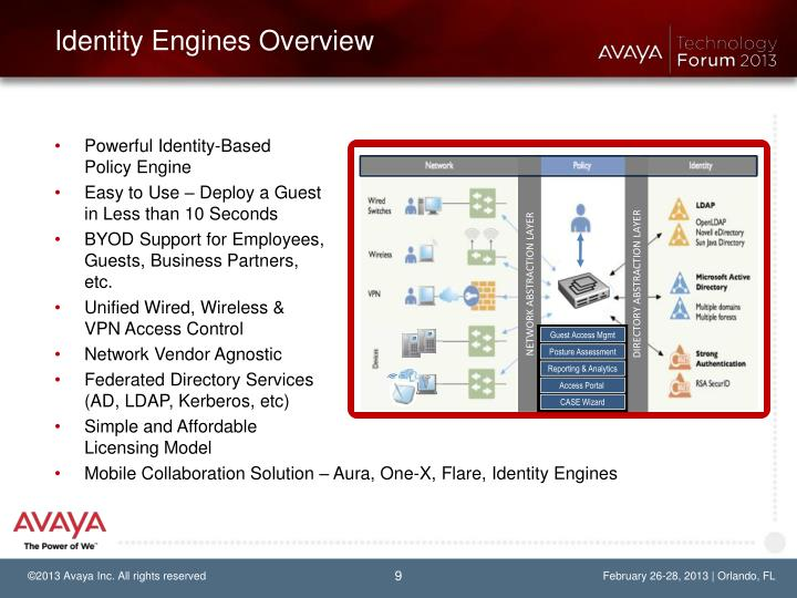 Identity Engines Overview