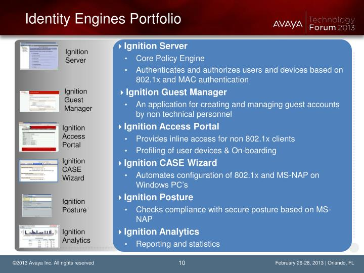 Identity Engines Portfolio