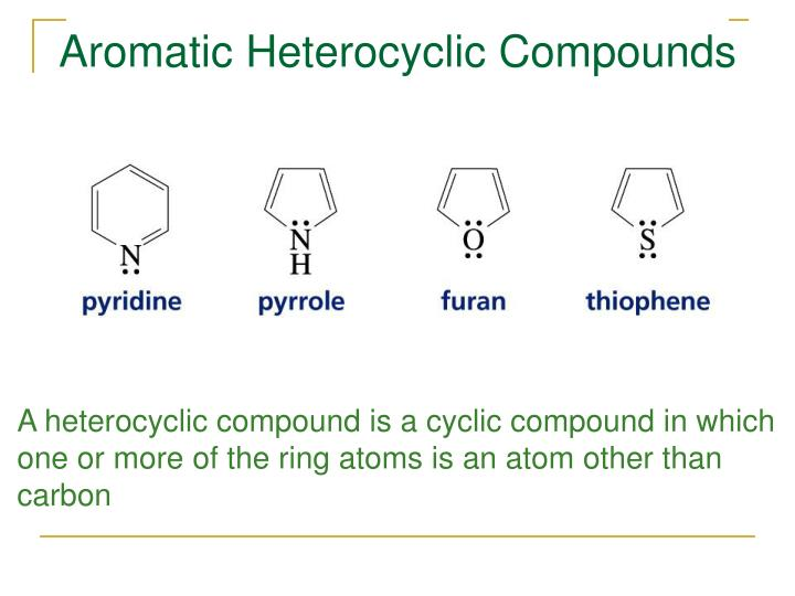 Aromatic Heterocyclic Compounds