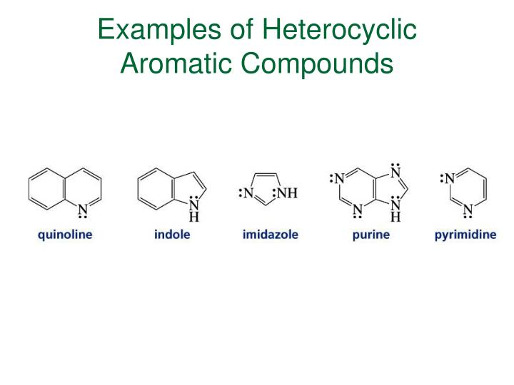 Examples of Heterocyclic