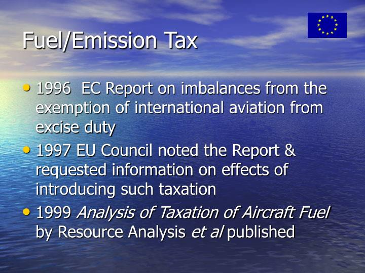 Fuel/Emission Tax