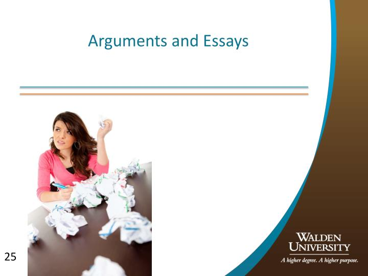 Arguments and Essays