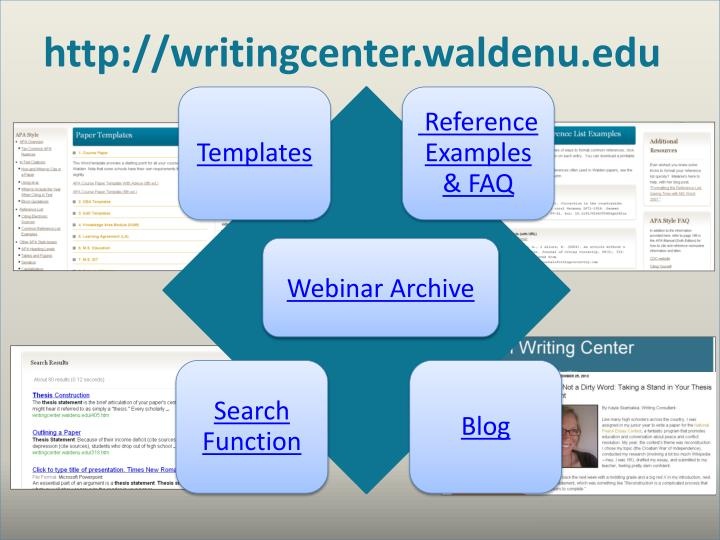 http://writingcenter.waldenu.edu