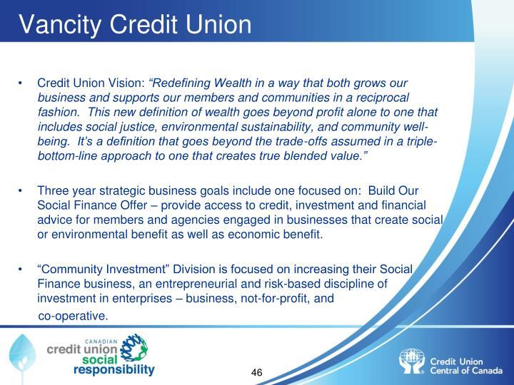 Vancity Credit Union