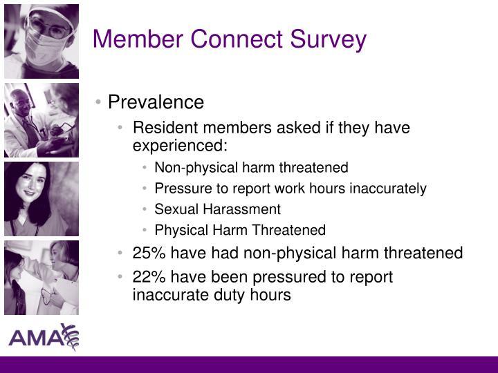 Member Connect Survey