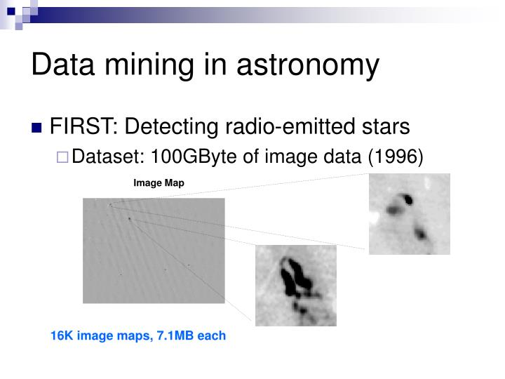 Data mining in astronomy