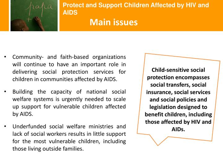 Protect and Support Children Affected by HIV and AIDS