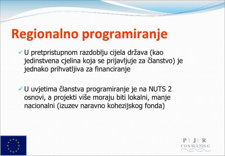 Regionalno programiranje