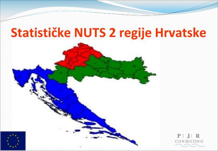Statističke NUTS 2 regije Hrvatske