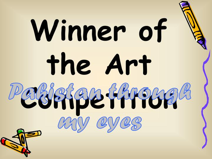 Winner of the Art Competition