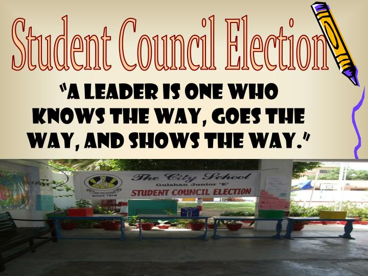 Student Council Election