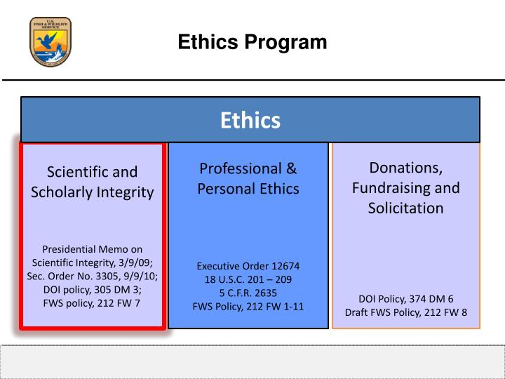 Ethics Program