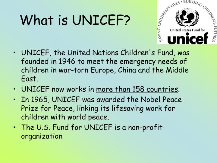 What is unicef