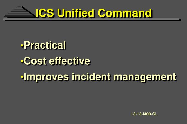 ICS Unified Command
