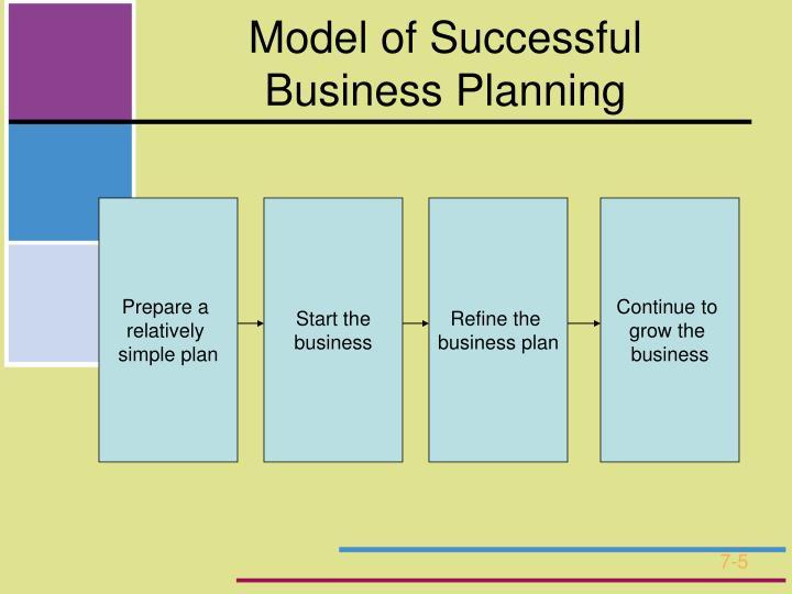 Model of Successful