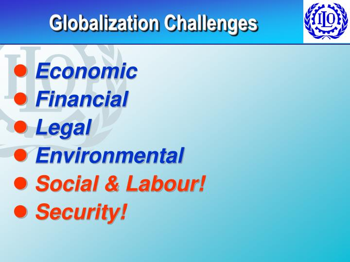 Globalization Challenges