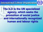 international labour organization18