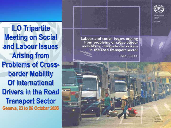 ILO Tripartite Meeting on Social and