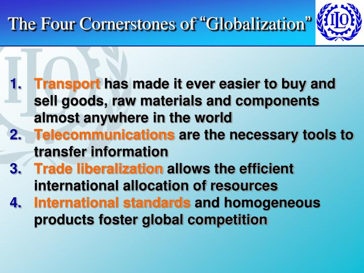 The Four Cornerstones of