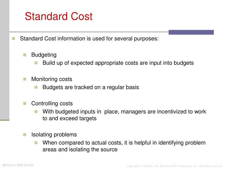 Standard Cost
