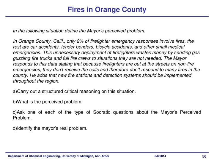 Fires in Orange County
