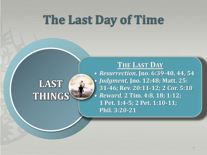 The Last Day of Time