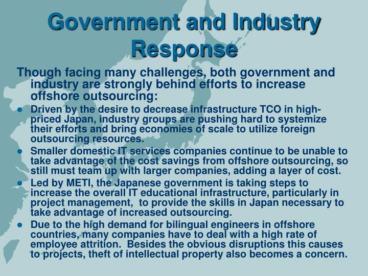 Government and Industry Response