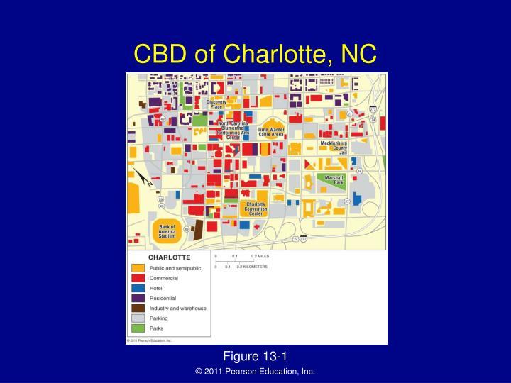 CBD of Charlotte, NC