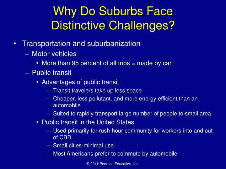 Why Do Suburbs Face